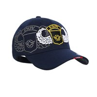 Wholesale Navy Seals Hats - 9 Style 2016 Tactical Marines Cap Mens Baseball Cap USA Army Black Water Hat Snapback Caps For Outdoor Adjustable Navy Seal Casquette