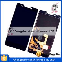 Wholesale Droid Razr Glass Screen - New LCD Screen Glass Digitizer with Frame Assembly For Motorola Droid Razr HD XT925 XT926 free shipping