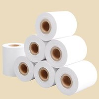Wholesale Paper Companies - Thicken 4 rolls lot Thermal Paper 57x50mm High Quality Receipt Paper POS Receipt Paper Roll Business Company Supplies