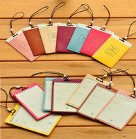 Wholesale Wholesale Leather Luggage Tags - Luggage Tags Travel Paper Suitcase Tags Carrying case Tag bag Label Wrap Easily recognizable Bag Parts With The lanyard luggage label 2159