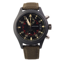 Wholesale W Watches - Time legend famous branded watches I W mens waches men fully Quartz Chronograph Timing watches leather brand SS00197