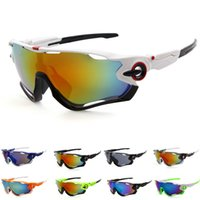 Wholesale motorcycles eyewear for sale - Group buy UV400 Outdoor Sports Cycling Glasses Colourful Lens Sun Glasses Windproof Eyewear Bicycle Motorcycle Sunglasses oculos ciclismo