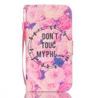 Wholesale Duck Iphone Cases - Cartoon Wallet PU leather Case For iphone 7 7G Plus Samsung Galaxy S7 Note 7 Edge Stand RopeTower Owl Windbell Duck Flower Feather