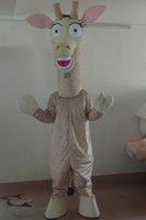 Wholesale Giraffe Mascots - Wholesale-giraffe mascot costume adult giraffe costume