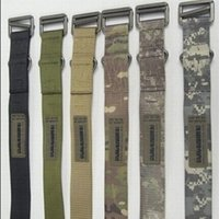 Wholesale 1000D Nylon Tactical CQB Emergency Steel Silver Buckle Rescue Sling Belt