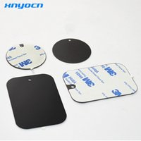 Wholesale replacement plates - 2017 Phone Replacement Metal Plate Kit with Adhesive Universal Car Magnetic Mount for Holder Dock Nd-mha001 Car Steering Wheel