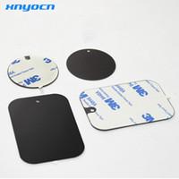 kit volante universal venda por atacado-2017 telefone substituição kit placa de metal com adesivo Universal Car Magnetic Mount para Holder Doca Nd-mha001 Volante Do Carro
