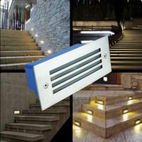 luzes de escada interior venda por atacado-Frete grátis Ao Ar Livre / Indoor IP65 levou caminho luzes 3 W 85-265 v conduziu a lâmpada de Parede à prova d 'água para jardim praça escada de iluminação Subterrânea