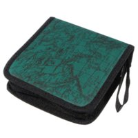 Hot vente New 40 Carte disque Support CD DVD Storage Sleeve Box Case Wallet Bag - Vert