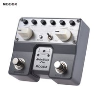 Wholesale Mooer Guitar Effects - Wholesale- MOOER ShimVerb Pro Digital Reverb Guitar Effect Pedal with Shimmer Effect 5 Reverberation Modes Twin Footswitch