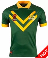 Wholesale Hot Australian - Hot sales Australia 2017 World Cup NRL Jersey rugby shirt Australian rugby Jerseys NRL National Rugby League shirts s-3xl