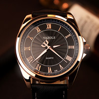 Wholesale Luminous Watches For Men - Luxury Watch for Mens Fashion Luminous Hands Waterproof Business Casual Dress Watch Leather Band Man Sport Watch