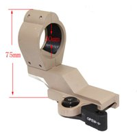 Wholesale M3 Scope - Hunting red dot M3 QD Mount 30mm scope mount Tan for 20mm Picatinny Rail