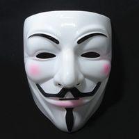 Wholesale Cheap Cosplay Fast Shipping - Cheap Masquerade Masks V Mask Vendetta Halloween Mask Party Face Halloween Party Mask Super Scary Cosplay Fancy 10pcs lot Fast Shipping