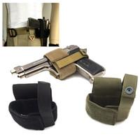 Wholesale Black Assault Pack - Outdoor Tactical Assault Combat Camouflage Pack Pistol Handgun Gun Holster Cover Holster Tactical Holster Pack NO17-209