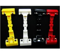 Wholesale whiilesale POP advertising clip robot mechanical clip stud clip thumb clip Transformers clip four color