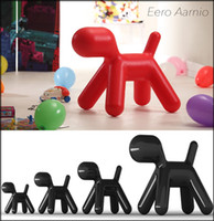 Wholesale lovely children series living room furniture fiberglass with cashmere replica designer magis puppy dog chair on sale