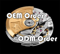Wholesale Ladies Automatic Watch New - OEM ODM Order Super Clone Mens Womens Ladies Gents Automatic Watch Phase Moon Chronograph Super Power reserve Tourbillon $79-$169