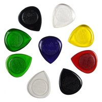 Wholesale Electric Bass Picks - In-Business 10 pcs Alice Durable Transparent Electric Bass Guitar Picks Shape Waterdrop Thickness 1.0 2.0 3.0 mm