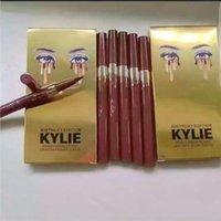 Wholesale Gold Eye Pencil - Kylie Birthday Edition Leo waterproof Black Eyeliner Liquid Make Up Beauty Eye Liner Pencil High Quality Gold Kylie Eyeliner Pencil 2 Colors