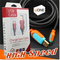 Wholesale Chinese Etc - Samsung S7 Micro USB Cable 5ft 1.5m High Speed USB 2.0 A Male to Micro B Sync and Charger Cables for Android Samsung HTC Motorola Etc