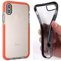 Wholesale Tpu Frame Case - New Arrival T21 Soft TPU Protective Back Cover Case For iphone X 8 7plus 6s plus Frame Bumper Case Shock Proof DHL Free Shipping