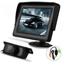 Auto High Definition 4,3 Zoll LCD-Display Rückansicht Kamera VCR Video Monitor für Kamera FM TV Radio Sreeen Player Backup