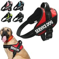 Wholesale Dog Training Husky - Large Dog Harness Adjustable Pet Puppy Working Training Chest Straps For Pit-bull Husky