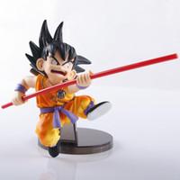 Wholesale Dragon Ball Pvc - Anime Dragon Ball Goku budokai tenkaichi PVC Action Figure Collectible Model doll toy 15cm free shipping