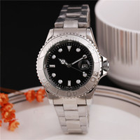 Wholesale green yachts - wristwatches luxury men s luxury watche Luxury Brand Watch YACHT AAA MASTER 40mm Movement Mechanical Mens Stainless Steel Watches Wristwatch