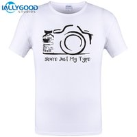 Wholesale New Type Shirt Design - You're Just My Type Design New Mens T shirt Funny Photographer Camera Photography Tops Tee Summer Short Hip Hop Tops Tee S-6XL