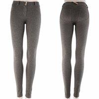hochwertige damen leggings großhandel-Wholesale-Sexy Damen Leggings Yoga Sport Laufen Hohe Taille Fitness Hosen Gym Elastische Top Qualität Neue Marke