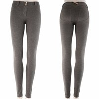 гетры высокого качества женские оптовых-Wholesale-Sexy Womens Leggings Yoga Sport Running High Waist Fitness Pants Gym Elastic Top Quality New Brand