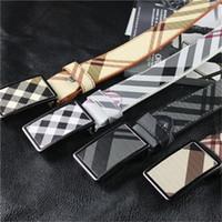 Wholesale Belts Mens Lengthening - new mens designer belts designer belts for men high quality genuine leather men belt gold Casual mens belts waist strap ceinture homme