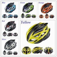 Wholesale Helmet Mountain Bicycle - Livestrong Cycling Helmet High Quality Mountain Road Race Cycling Mtb Road Race Bike whisper Helmet 6 Color Bicycle helmet sport helmets