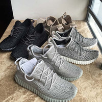 Wholesale cotton markets - New With Box 350 V1 Shoes Moonrock Pirate Black Turtle Dove Oxford Tan Men Women Kanye West Boost 350 Shoes Top Sport Market