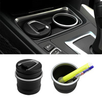 Wholesale Ash Brand - Wholesale-NHBR car Ash Tray Ashtray Storage Cup With LED for BMW 1 3 4 5 7 Series X1 X3 X5 X6 Brand New