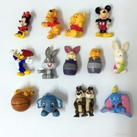 Wholesale Clear Dog - 2017 Mini Action Figures basketball cartoon animal Dogs bears Gashapon Gachapon Capsule Toys Mini Figures Cute for children Christmas Gifts