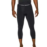 Wholesale Sport Traning - Wholesale-Hot Mens Compression Fitness Traning Men's Running Tights Sport Basketball Calf-Length Pants Fit Dry Leggings Sweatpants