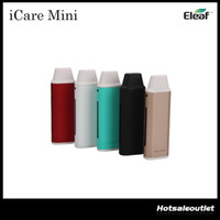 Wholesale Pcc Kits - Authentic Eleaf iCare Starter Kit with an 1.8 ml Internal Tank & Eleaf iCare Mini PCC Starter Kit with a 2300mAh PCC 100% Original
