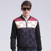 Wholesale Lead Jacket - 2016 Trend Wear Autumn New Pattern Europe Agitation Male Foreign Trade Will Code Set Lead Leisure Time Men's Jacket Loose Coat