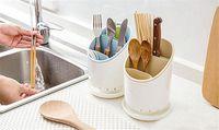 Wholesale Floor Dryers - 1PC Kitchen Drainer Strainer Chopsticks Cage Storage Organizer Dryer Spork Spoon Cutlery Holder Kitchenware Drying Rack