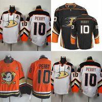 5b22fd1f1 2016 New Wholesale Corey Perry Anaheim Ducks Jersey Perry Hockey Jerseys  Cheap 10 Corey Perry Black White Best quality Ice Hockey Jerseys