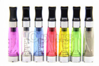 20pcs / lot Ego Flat Mouth CE4 Atomizer 1.6ml 2.4ohm CE4 Clearomizer 7 Цвета для эго-э эго-c эго-w Электронная сигарета