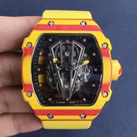 Wholesale man rm - RM27-02 RM27-03 RM 27 Rafael Nadal AUTOMATIC NTPT MEN WATCH MECHANICAL WRISTWATCH WATER RESISTANT LIMITED EDITION
