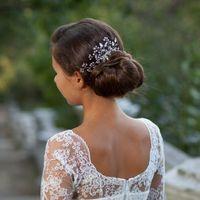 Wholesale Tiara Diamond Wedding Dress - The bride headdress wholesale Headdress flower, han edition combs hair white diamond tiara wedding dress product number 010-29