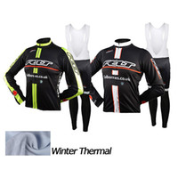 Wholesale biking clothing online - Winter Thermal Fleece Cycling Jersey Felt Long Sleeve MTBmen s cycling Clothing Ropa Ciclismo Invierno Maillot biking Clothes