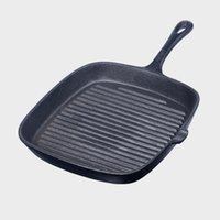 24cm Rectangle Bratpfanne Eisen Pan Non Stick Kochgeschirr für Jade Zi Burning Steak Pfannen Omelet Kitchen Pan