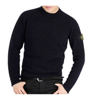 Wholesale Men S Cashmere Sweater Zipper - Free shipping 2016 island new spring high quality O-Neck men's cardigan cashmere sweater long-sleeve male jumpers pullover stone sweater
