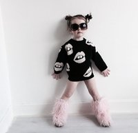 Wholesale Cardigans For Boys 3t - 2016 INS Children's Cothing For Boys girls Sweater Pullover Lips Exclusive Paternity Sweater Children Sweaters Adult Apparel Kids Costumes
